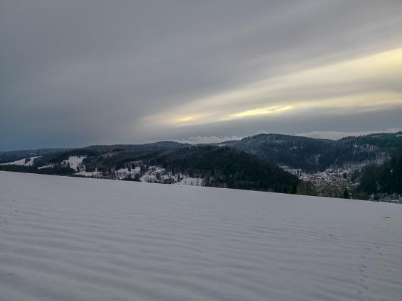 Blick Richtung Triberg